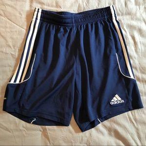 Adidas men's climalite soccer shorts - navy